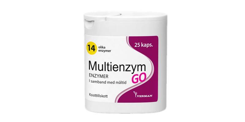 Multienzym GO Förpackning